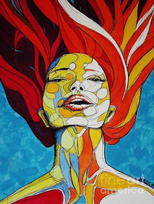 Immersed Print by Kyle  Brock
