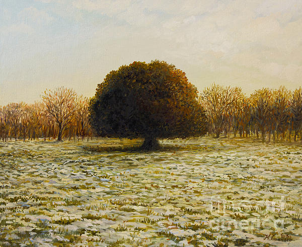 In Anticipation Of The Spring Print by Kiril Stanchev