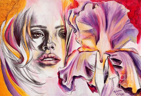 In Bloom Print by Rebecca Glaze
