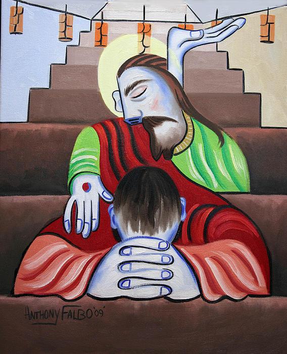 In Jesus Name Print by Anthony Falbo