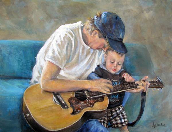 In Memory Of Baby Jordan Print by Donna Tucker