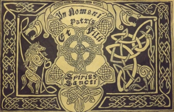 In Nomni Petris Print by Brett Genda