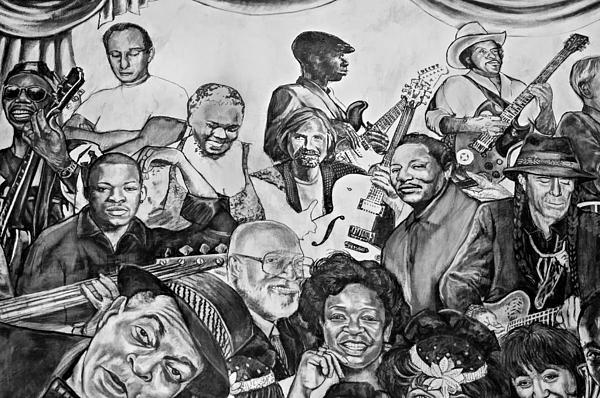 In Praise Of Jazz V Print by Steve Harrington