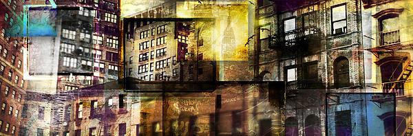 In The City Print by Jeff Klingler