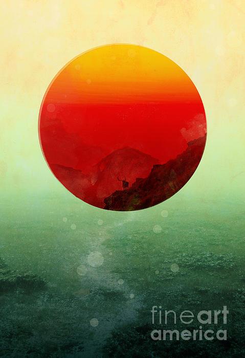 In The End The Sun Rises Print by Budi Kwan