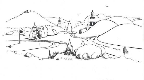 In The Land Of Brigadoon  Print by Kip DeVore