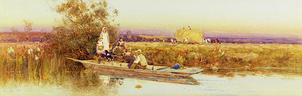 In The Punt Print by Thomas James Lloyd