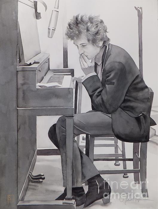 In The Studio Print by Robert Hooper