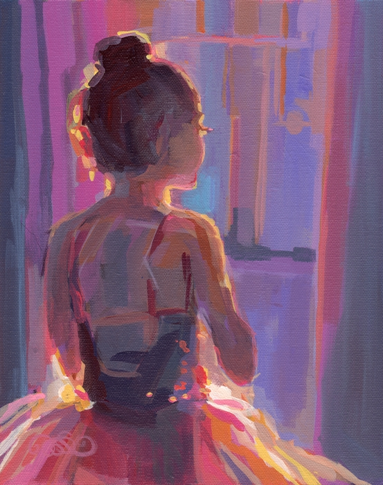 In The Wings Print by Kimberly Santini