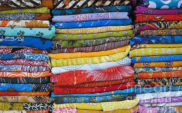 Indian Sari Pattern Print by Tim Gainey