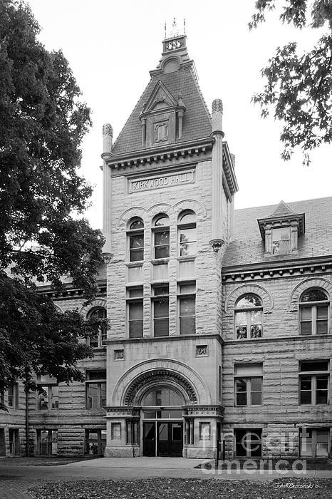 Indiana University Kirkwood Hall Print by University Icons