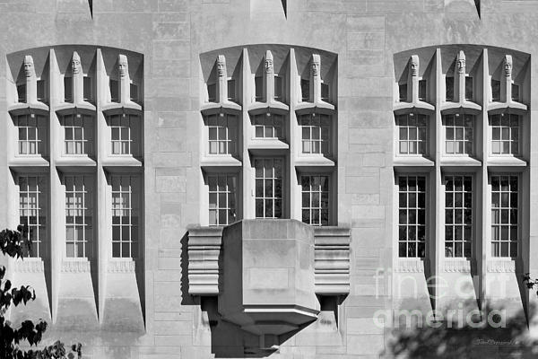 Indiana University Myers Hall Print by University Icons