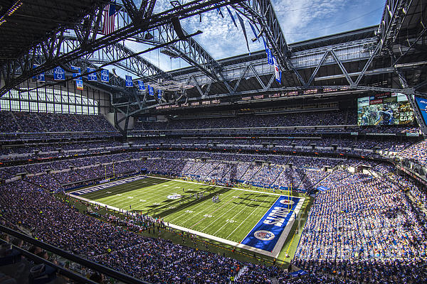 Indianapolis Colts 3 Print by David Haskett