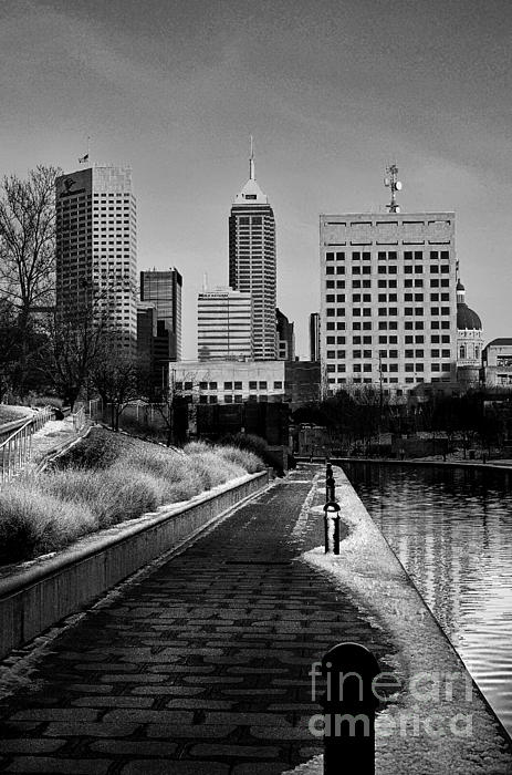 Indianapolis Skyline 21 Print by David Haskett