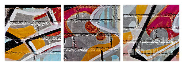 Industrial Graffiti Print by Art Block Collections