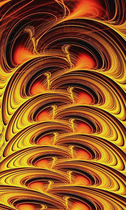 Inferno Print by Anastasiya Malakhova