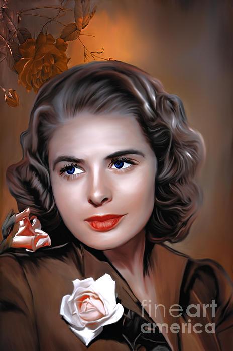 Andrzej Szczerski - Ingrid Bergman