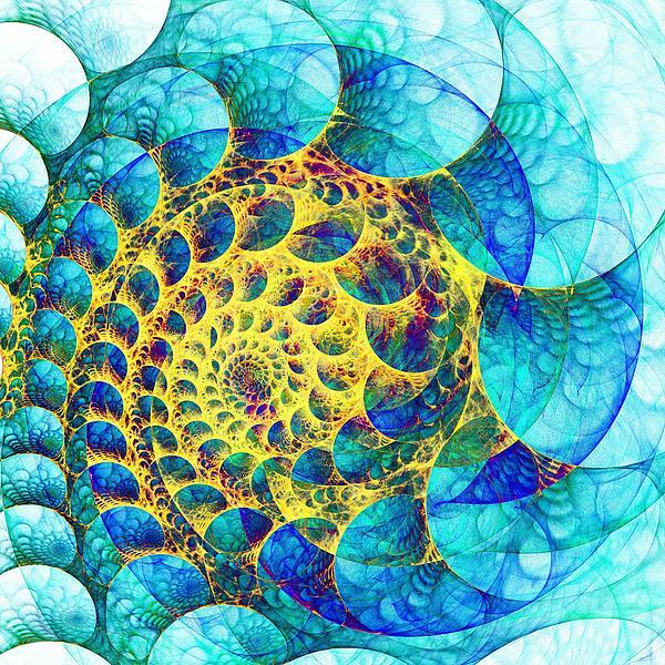 Inner Structure Print by Anastasiya Malakhova