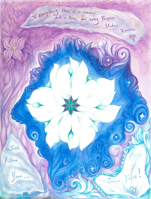 Inner Voice Print by Lydia Erickson