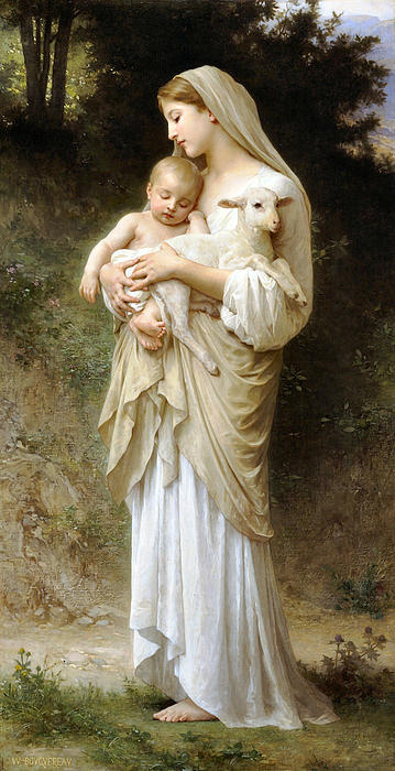 Innocence Print by William Bouguereau