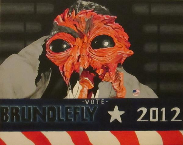 Insect Politician Print by Chris Fern