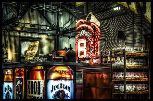 Inside Jim Beam America Stillhouse Print by Dave Lyons