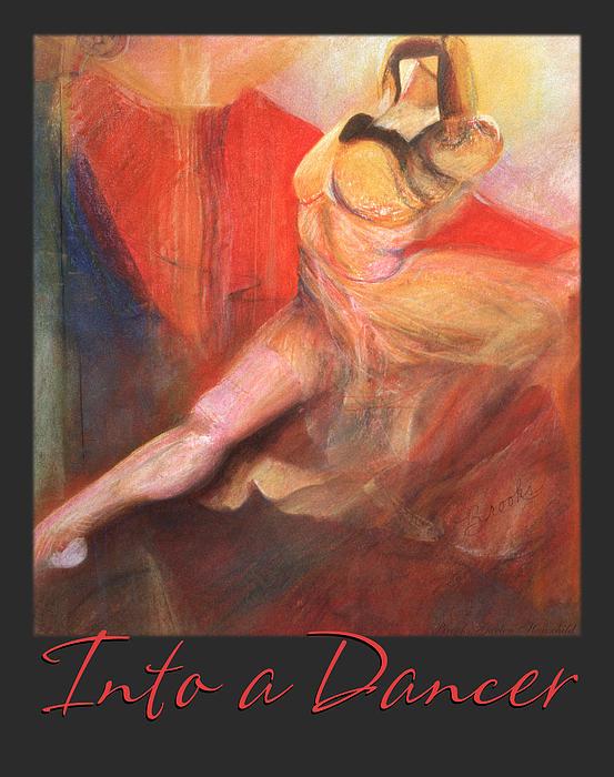 Into A Dancer Print by Brooks Garten Hauschild