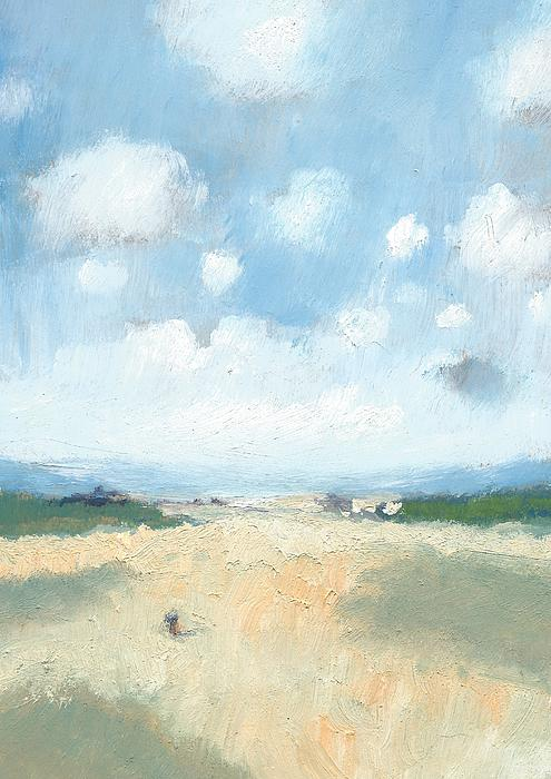 Into The Distance Part Two Print by Alan Daysh