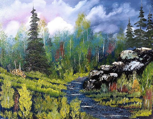 Into The Wilderness Print by Roy Gould