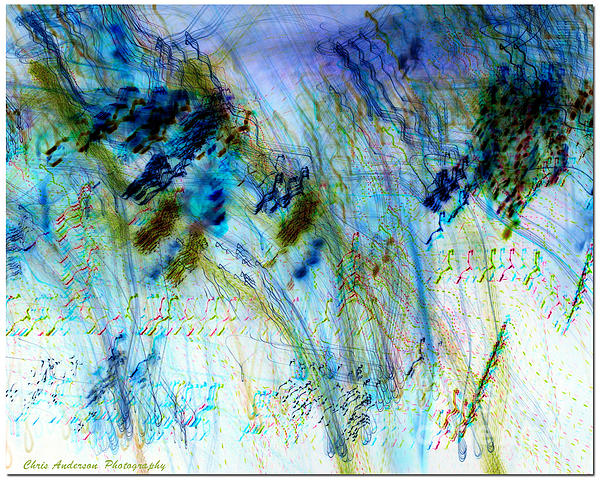 Inverted Light Abstraction Print by Chris Anderson