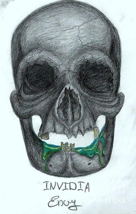 Invidia Print by Tanya Bure