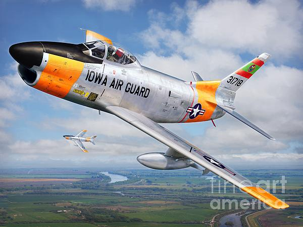 Iowa Guardian Print by Stu Shepherd