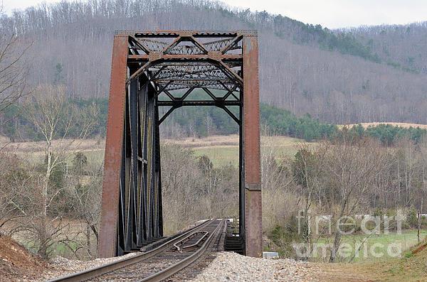 Iron Bridge Print by Brenda Dorman