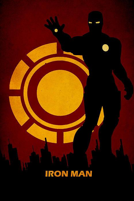 Iron Man Print by FHTdesigns