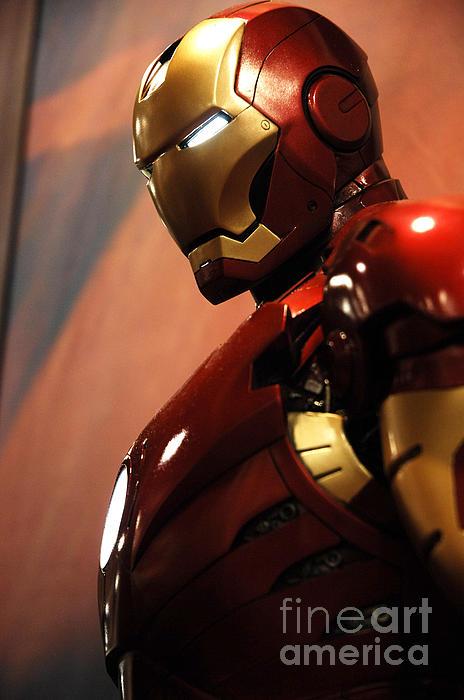 Iron Man Print by Micah May
