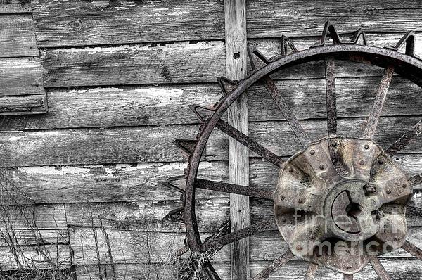 Iron Tractor Wheels : Iron tractor wheel by scott hansen
