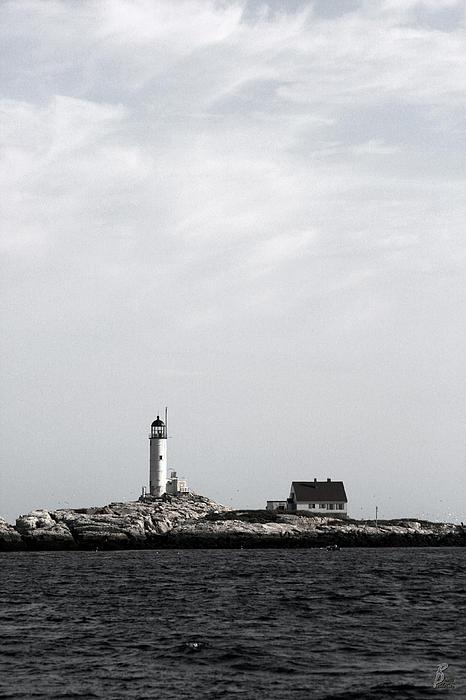 Isles Of Shoals Lighthouse Print by Brett Pelletier