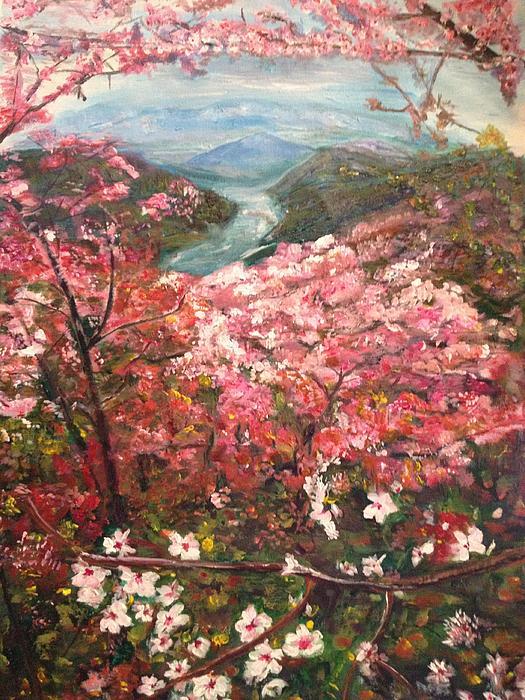 It Is Spring Everyday Print by Belinda Low