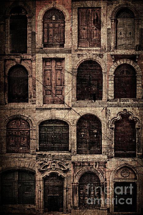 Italian Doors. Print by Juan Nel