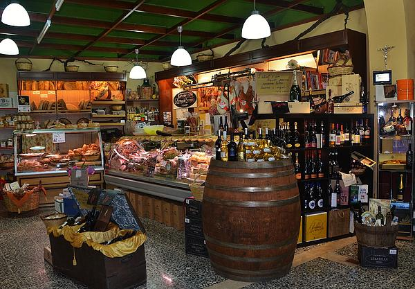 Italian Grocery Print by Dany  Lison