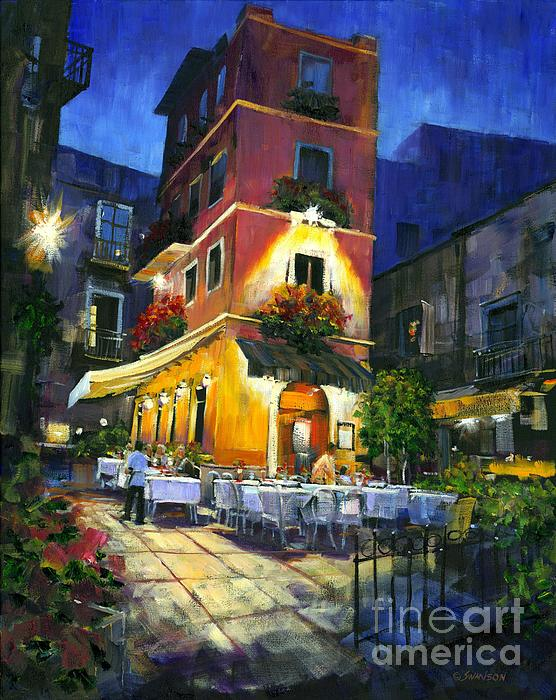 Italian Nights Print by Michael Swanson