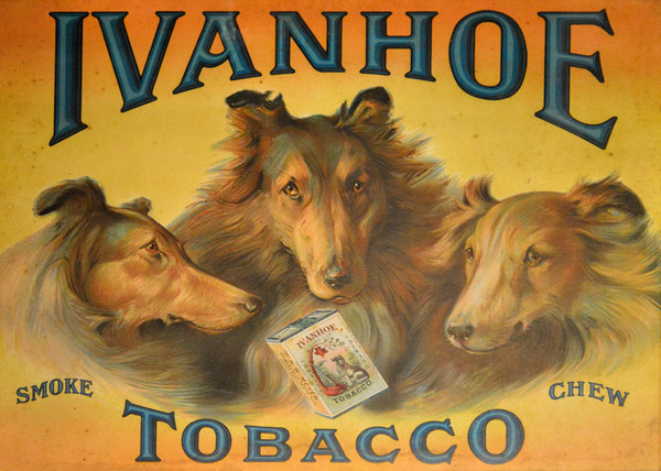 Ivanhoe Tobacco - The American Dream Print by Christine Till