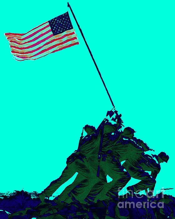 Iwo Jima 20130210m128 Print by Wingsdomain Art and Photography