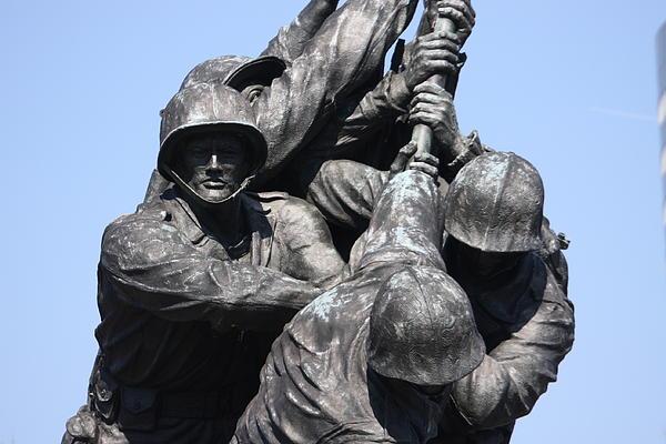 Iwo Jima Memorial - 12124 Print by DC Photographer