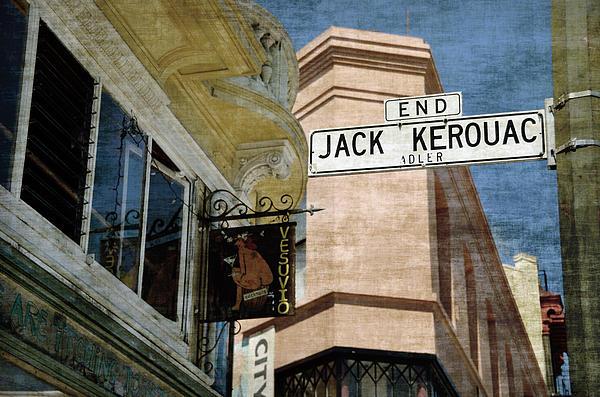 Jack Kerouac Alley And Vesuvio Pub Print by RicardMN Photography
