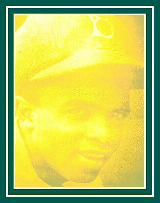 jackie Robinson 2 Print by Tracie Howard