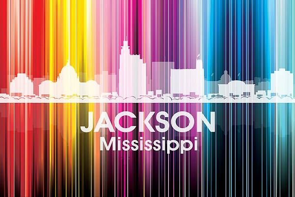 Jackson Ms 2 Print by Angelina Vick