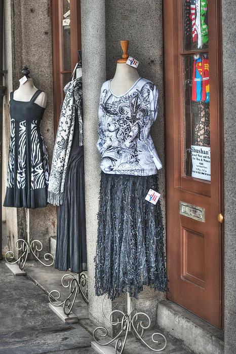 Jackson Square Fashion Print by Brenda Bryant