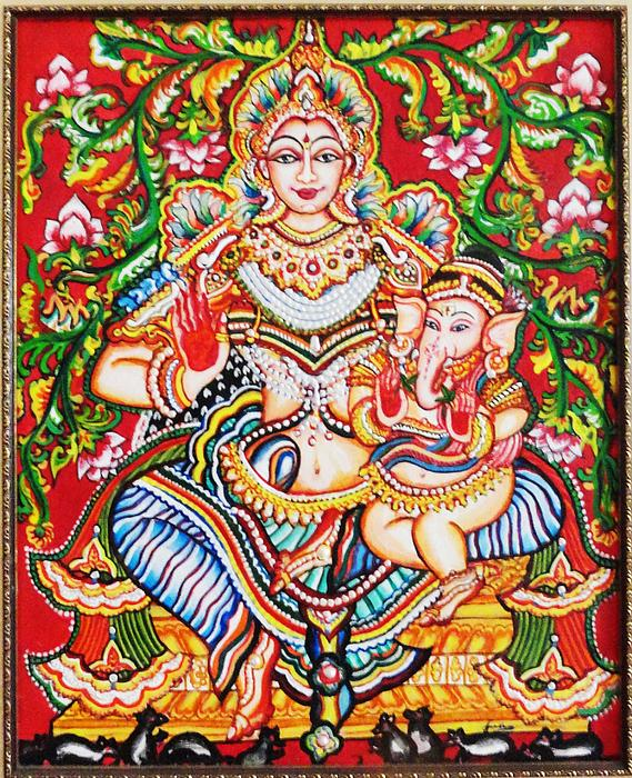 Jaganmatha Print by Jayashree