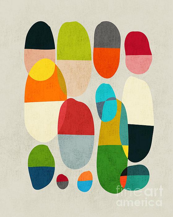Jagged Little Pills Print by Budi Satria Kwan